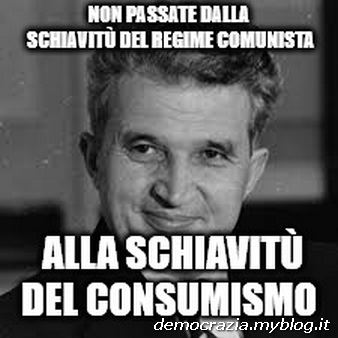"""Nel 1989 Nicolae Ceausescu dichiarava che il paese era riuscito finalmente a ripagare il suo debito estero di 10 miliardi di dollari, """"grazie al lavoro del nostro popolo"""", eufemismo per descrivere feroci privazioni inflitte alla popolazione, senza riscaldamento e a corto di beni di prima necessità. L'ipotesi alternativa di una ristrutturazione del debito era stata respinta dalle banche creditrici. Grecia 2009, vent'anni prima."""